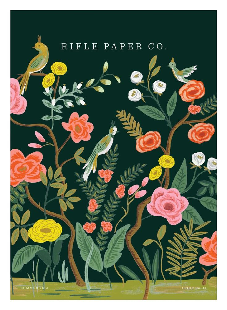 Rifle Paper Company Summer 2016 Catalog
