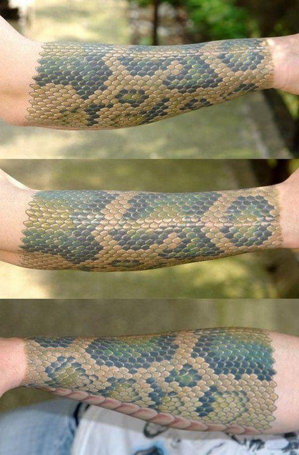 47++ Tatouage ecaille de serpent inspirations