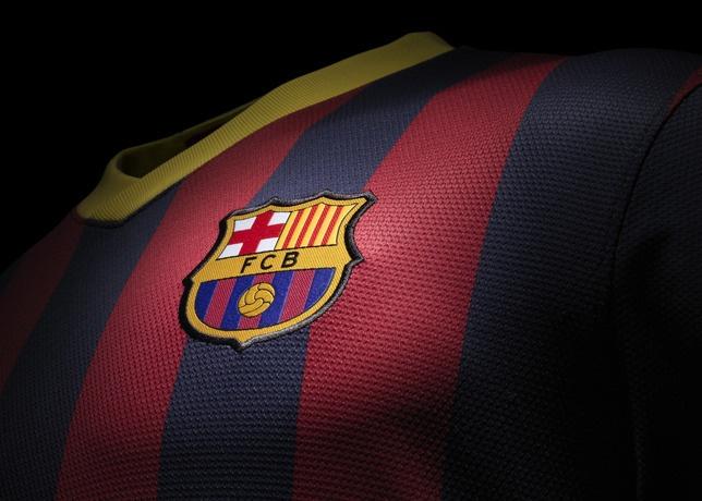 Nova camisa do Barcelona para 2013
