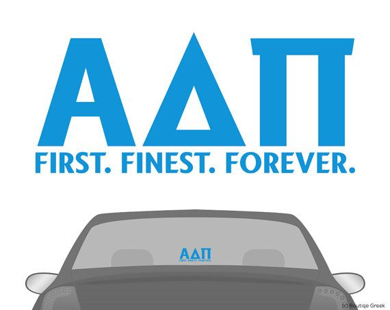 adpi alpha delta pi letters car laptop dorm window vinyl sorority decal sticker on etsy