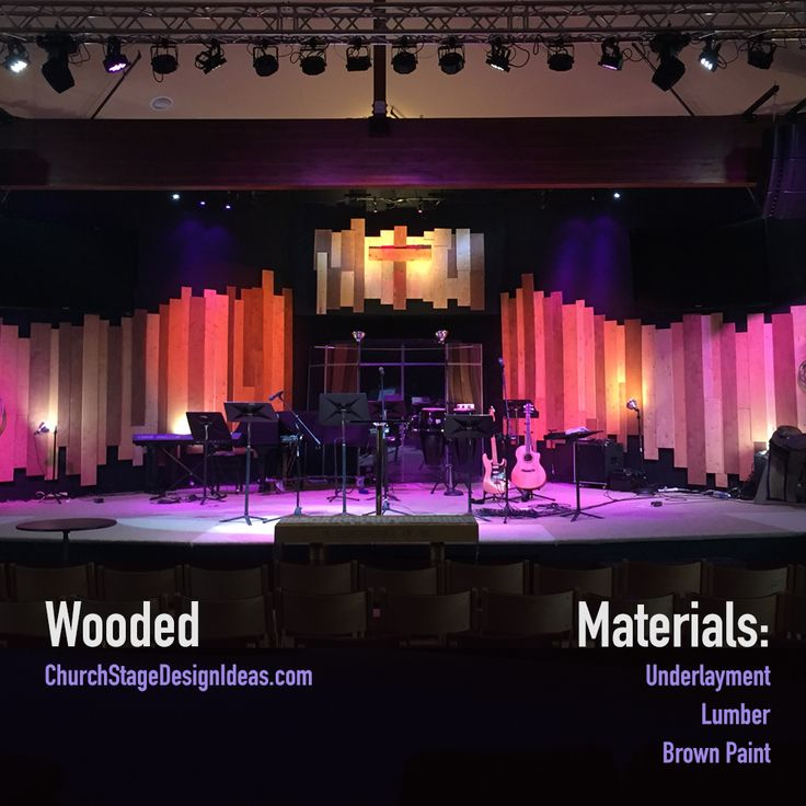 86 best Church Stage Design Ideas images on Pinterest | Church ...