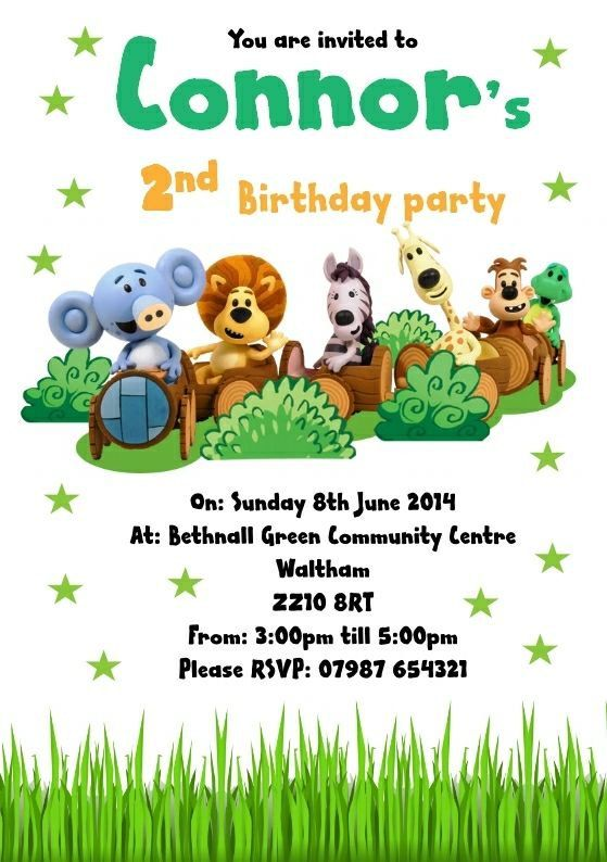 19 best Raa Raa the Noisy Lion Birthday Invitations and party – Lion Birthday Invitations