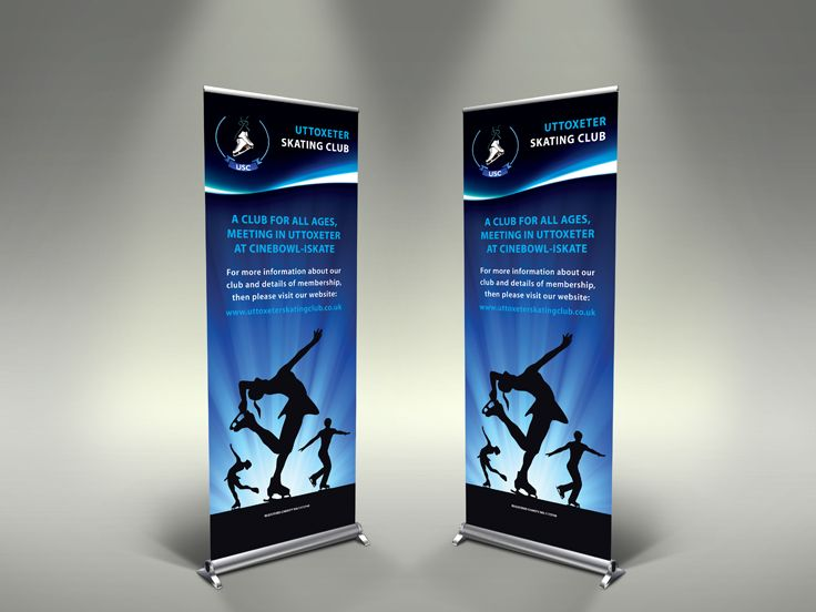 Pop Up Banner designed for a local charity that they use at events to publicise themselves