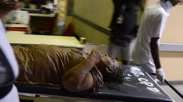 Sri Lanka: un bidonville écrasé par les ordures