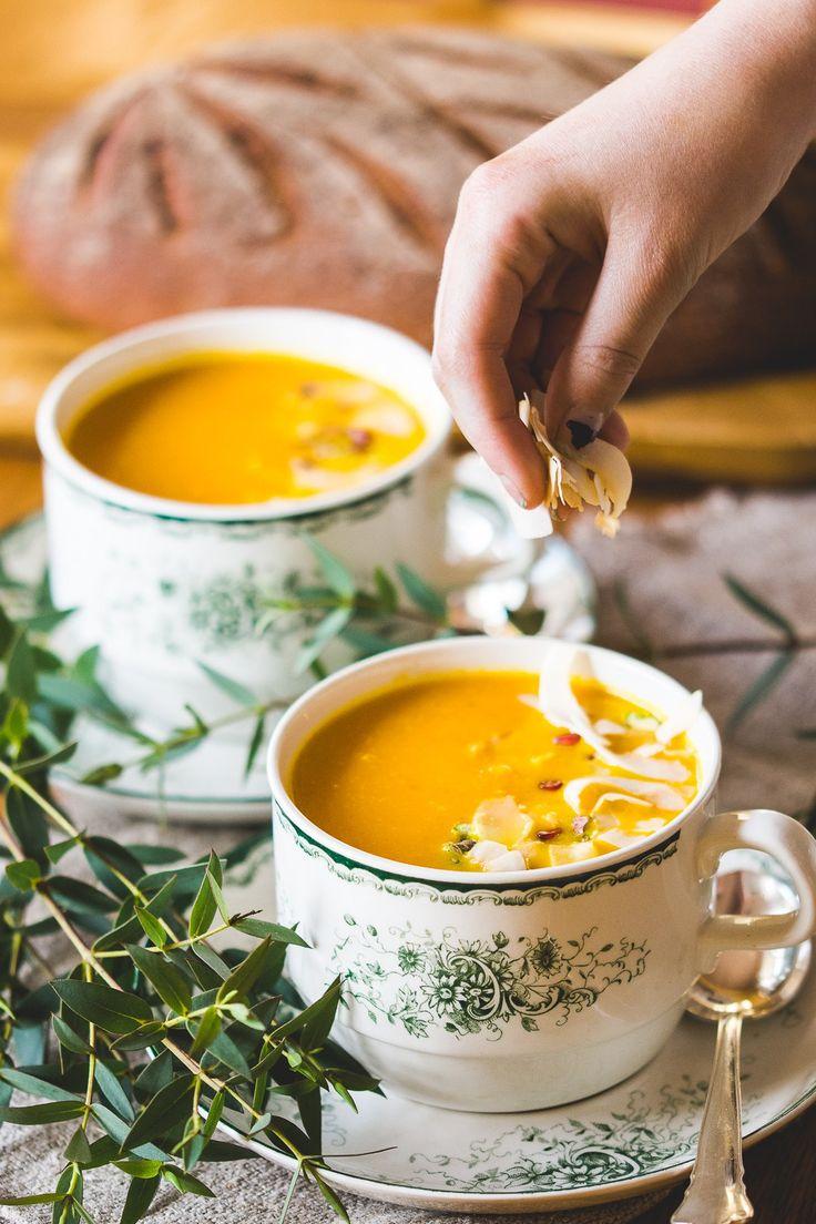 Morotssoppa med ingefära och apelsin