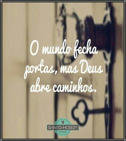 Basta crer! :)