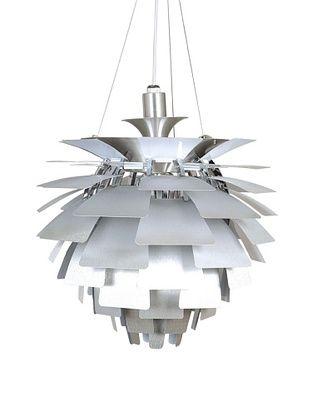 -76,800% OFF Kirch & Co. Artichoke Pendant Lamp (Silver)