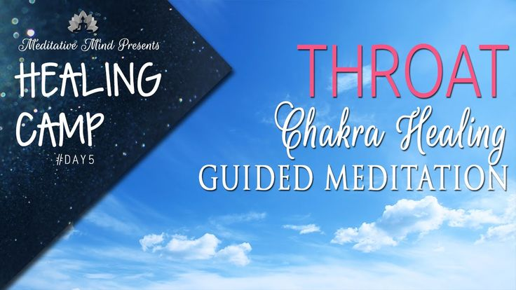 Throat Chakra Healing Guided Meditation | Healing Camp 2016 | Day #5