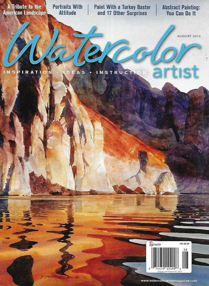 Watercolor Artist Magazine American Landscape Tribute Portraits