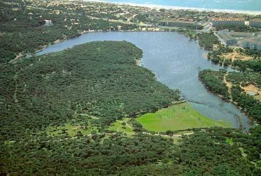 Luguna el Portil (Huelva). Origen litoral.