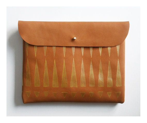 clutch heaven! suede leather clutch by blackbird and the owl.
