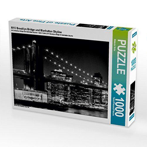 NYC Brooklyn Bridge und Manhattan Skyline 1000 Teile Puzz... https://www.amazon.de/dp/B01LXFY9F0/ref=cm_sw_r_pi_dp_x_q8RqybHGQZR3M #Puzzle #1000 #1000Teile #Geschenk #Weihnachten #Spielzeug #Basteln #Spass #Beschäftigung #NYC #BrooklynBridge #NewYork #NewYorkCity #schwarzweiß #monochrom #Nacht #Abend #Skyline #Lichter #Manhattan #Hochhäuser #dunkel #Architektur #Stadt #Sehenswürdigkeit #Wahrzeichen