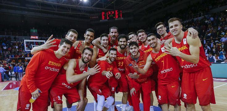 Tres aurinegros en un nuevo triunfo de la selección española (79-67)