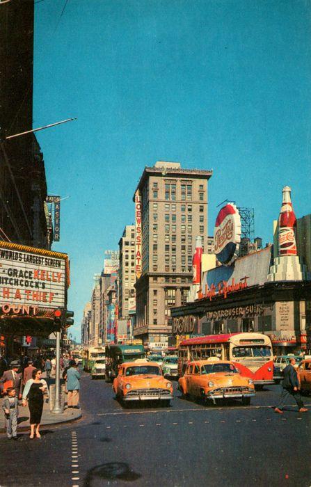 U.S. Time Square, NYC c. 1955