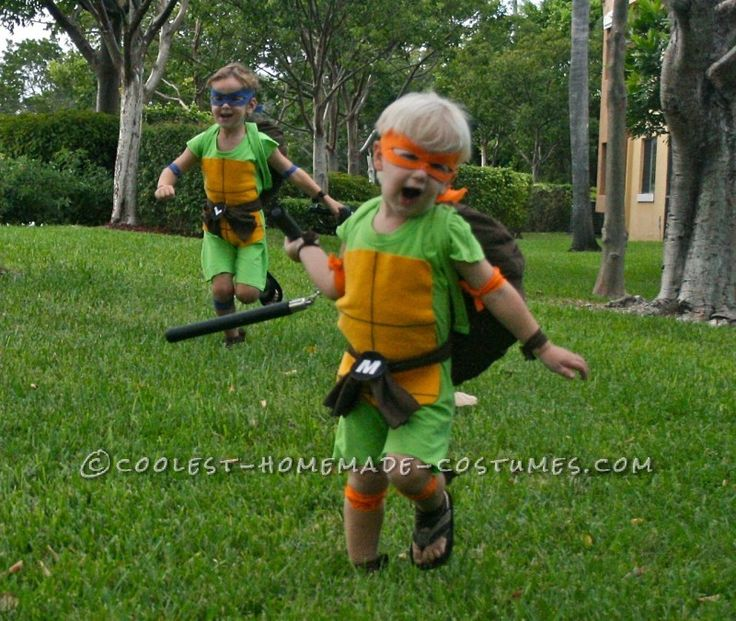 22 best halloween images on pinterest ninja turtle costumes coolest and cheapest homemade ninja turtle costumes solutioingenieria Image collections