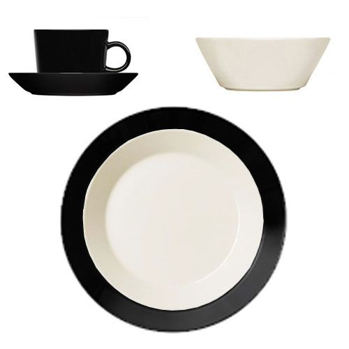 An undisputed classic Scandinavian dinnerware, Teema is celebrated for its innovation, function, durability and beauty. Designed by Kaj Franck in 1952, Teema remains a practical and versatile dinnerwar