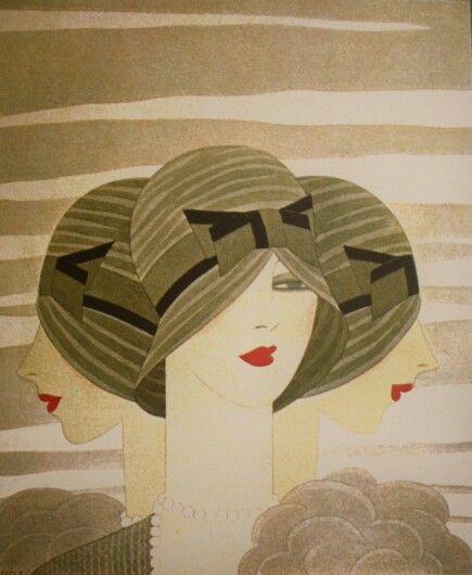 Parisinas. Vintage poster