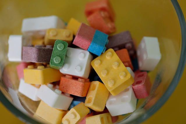 Lego Birthday Party Cake Pops