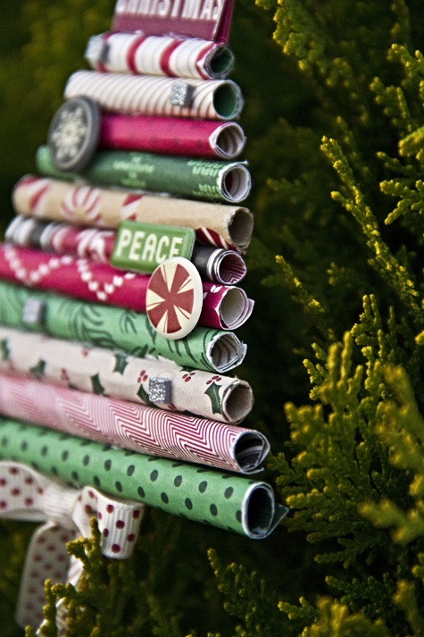 Rolled Paper ornament