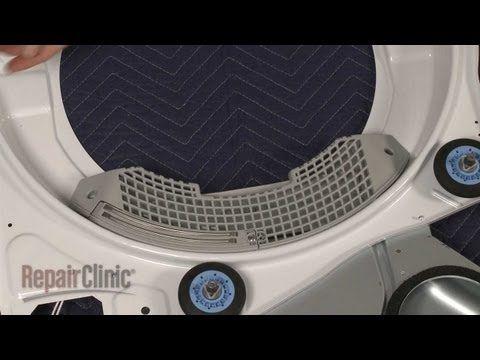 lg dryer parts. dryer lint filter grille replacement \u2013 lg electric (part #3550el1006b) - youtube lg parts