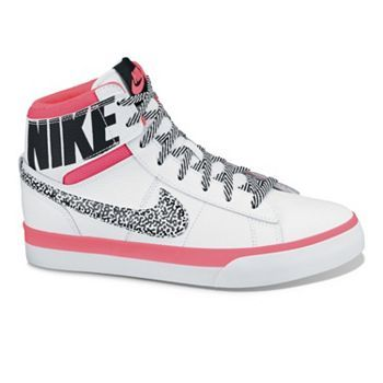 Nike Match Supreme High-Top Shoes – Grade School Girls im going to get these for christmas so cool