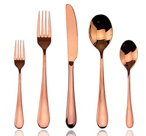 Aoo Luxury Rose Gold Flatware Set 20-piece Stainless Stee... https://www.amazon.com/dp/B01CNLZ6FW/ref=cm_sw_r_pi_dp_x_1ufvybSQE1TDD