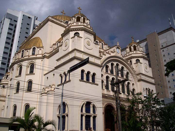 Catedral Ortodoxa Cidade De São Paulo São Paulo Cidade