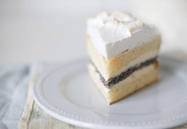 Чадейка - Маково-лимонный торт с творожным кремом