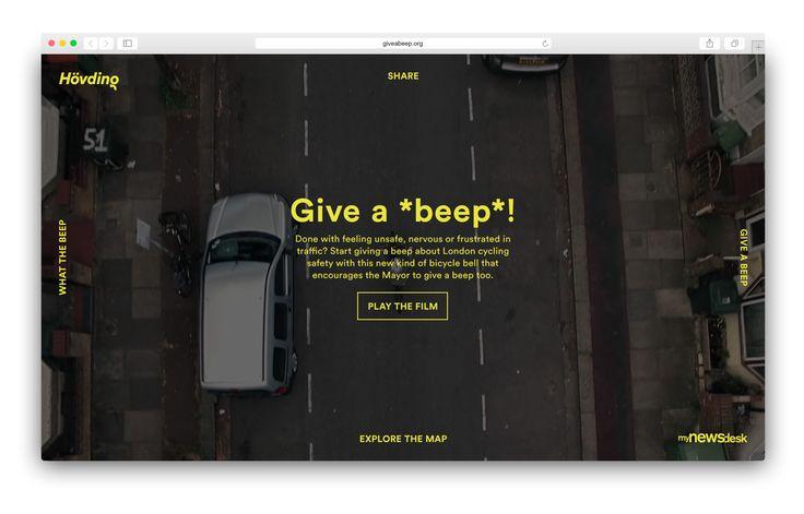 Hello jury › Hövding – Give a Beep – Webby Awards