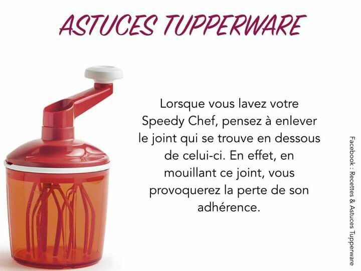 Speedy chef tupperware gateau