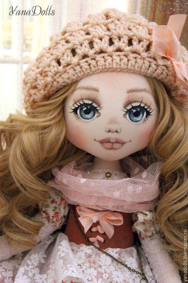 Купить Rosanna - кремовый, кукла ручной работы, кукла, кукла в подарок, кукла интерьерная
