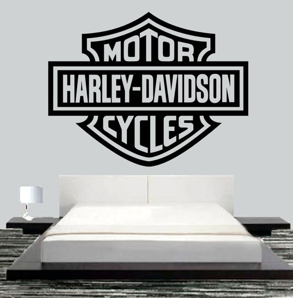 Harley Davidson Motor Wall Mural Art H D Art Pinterest