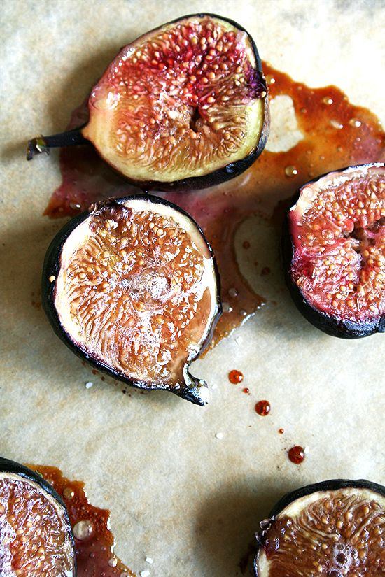 Honey roasted figs.