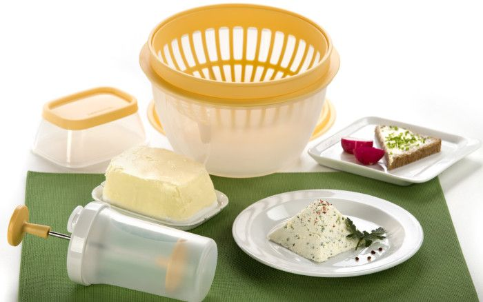 Tescoma s chutí: Domácí slané máslo, čerstvý krémový sýr