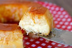 PANELATERAPIA - Blog de Culinária, Gastronomia e Receitas: Pudim de Tapioca com Coco