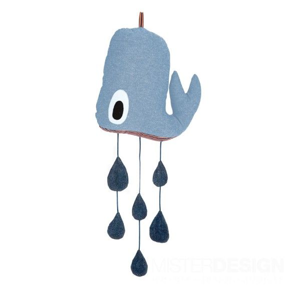 Whale Mobile - Ferm Living - Kids