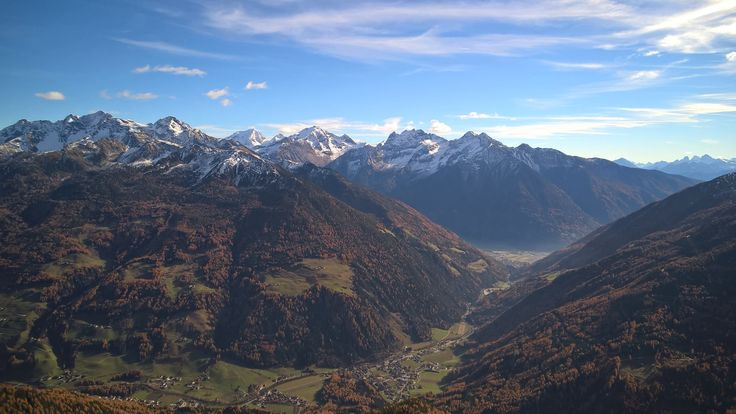 Autumn in Valle Aurina-Ahrntal #fall #mountains #panorama