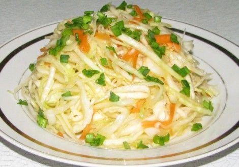 Как сделать салат из свежей капусты без уксуса