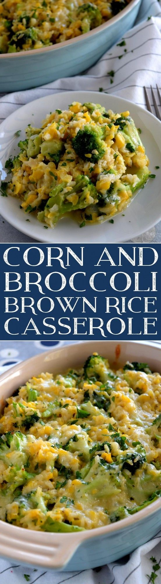 A creamy, sweet, vegetable-filled casserole with the wholesome goodness of brown rice, broccoli, and corn – perfect as a main dish or a side. Easy to prepare in very little time, but with impressive results! If you've been reading my…