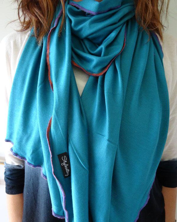 Deep in the Blue Lagoon by Stylesetterz Handmade Scarves www.facebook.com/stylesetterzhandmadescarves