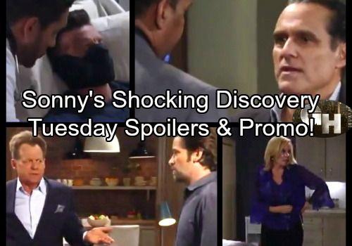 General Hospital Spoilers: Tuesday, September 26 – Sonny Seeks St. Petersburg Answers – Scott Gets Shock Twin News