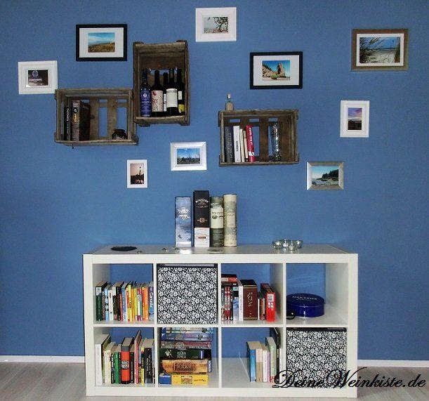 die besten 25 blaue wand ideen auf pinterest blaue wandfarbe wandvitrinen und blau wandfarben. Black Bedroom Furniture Sets. Home Design Ideas