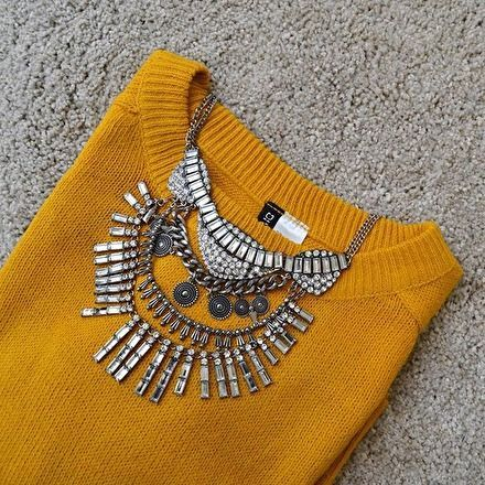 Tribal Boho Statement Necklace #ootd #picoftheday #fashion -  19,90 € @happinessboutique.com