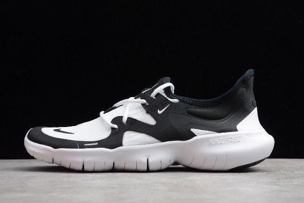 2019 Nike Free Rn 5 0 White Black Aq1289 102 Nike Free Rn Nike Nike Shoes For Sale