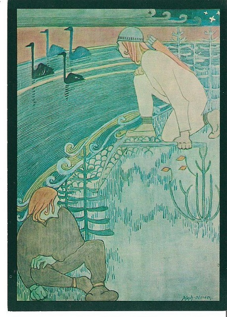 Alanen, Joseph - The Swans of Tuonela by Lilla67, via Flickr.