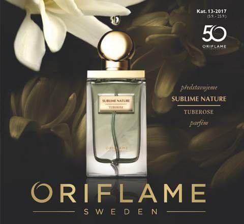Aktuální katalog Oriflame přináší nový parfém SUBLIME NATURE TUBEROSE.