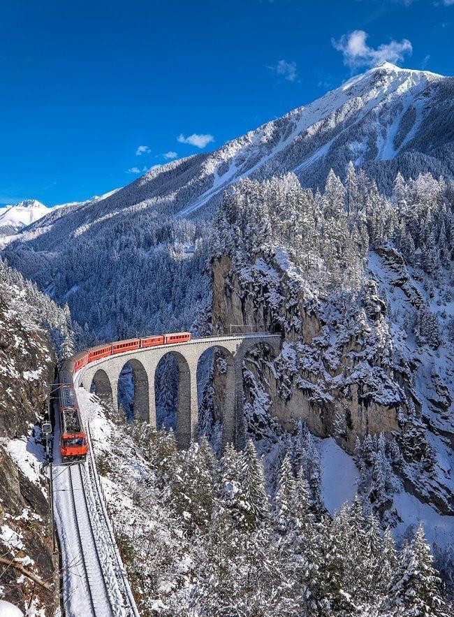 Glacier Express, Switzerland