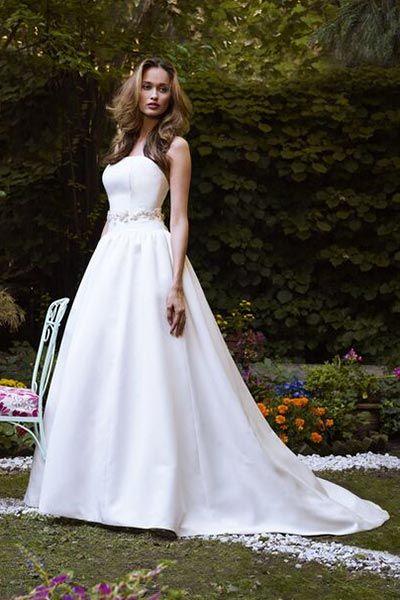 Wedding gown by Robert Bullock Bride.
