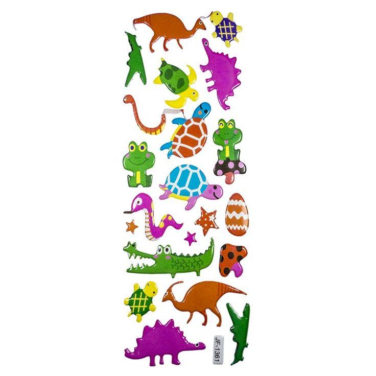 Planche Stickers Dinosaures