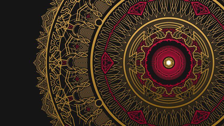 Resultado de imagem para imagens de mandalas douradas